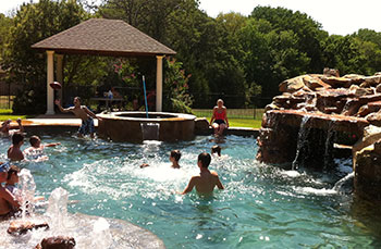 Mobley Ranch Pool Party